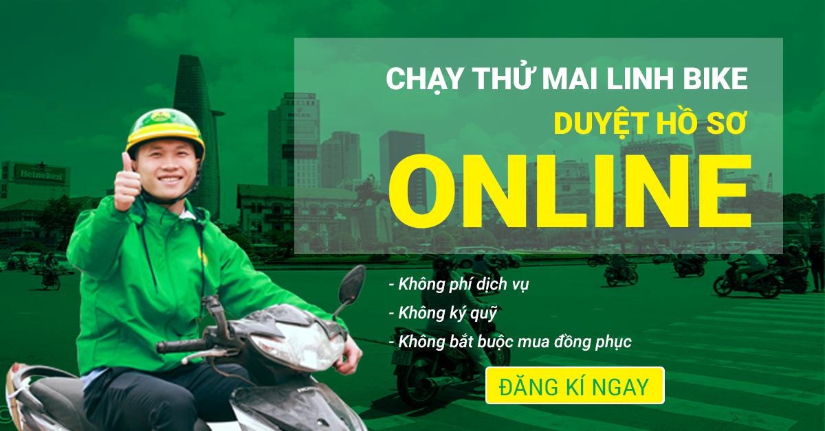 Kết quả hình ảnh cho Mai Linh Bike giảm 50% cước phí 1 tháng